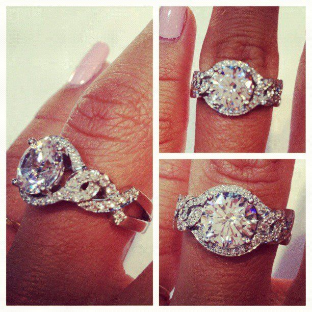 ummm yes. yes I will marry you - this ring is like a dream... BEAUTIFUL