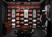 3d model shoe store