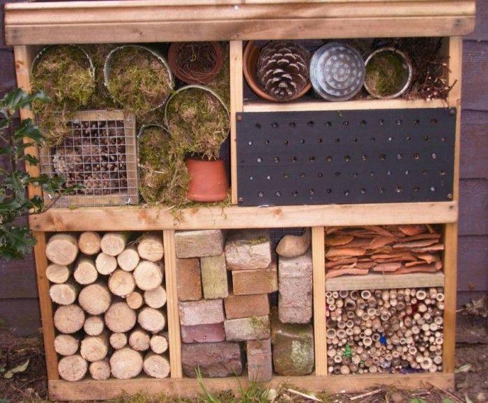 Польза насекомых в саду. Домики для букашек