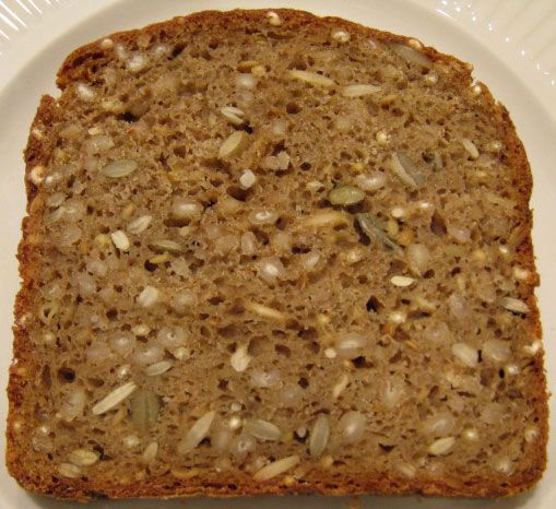 Breadsong By The Fresh Loaf Has Made A Really Good Danish Rye Style Bread Swedish Seeded Barley Bread Svenska Froe Broed
