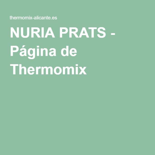 NURIA PRATS - Página de Thermomix