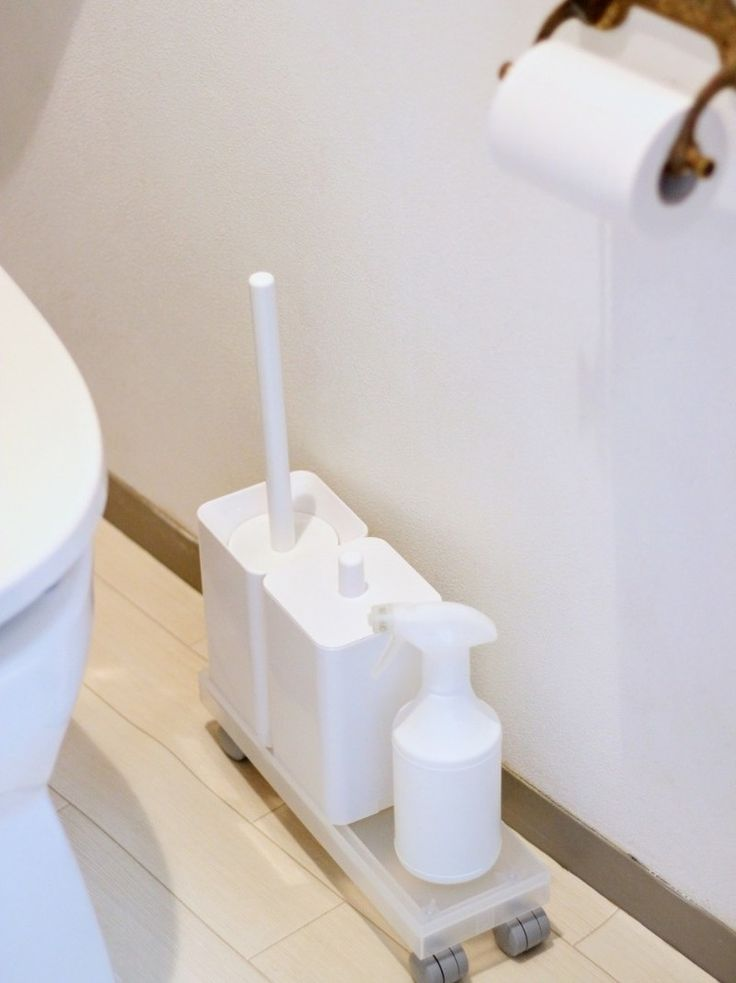 大人気 無印良品の キャスターもつけられるフタ を使ってみた トイレ 収納 無印 無印キッチン収納 無印 キッチン