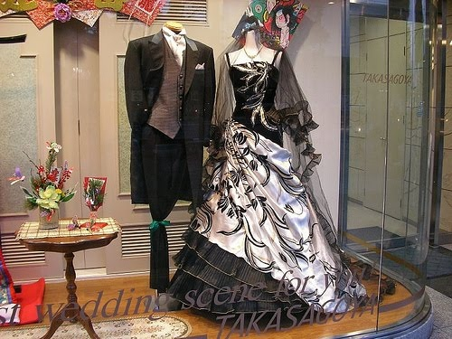 Wedding attire. - Nice, but maybe with fall colors? in my dreams!