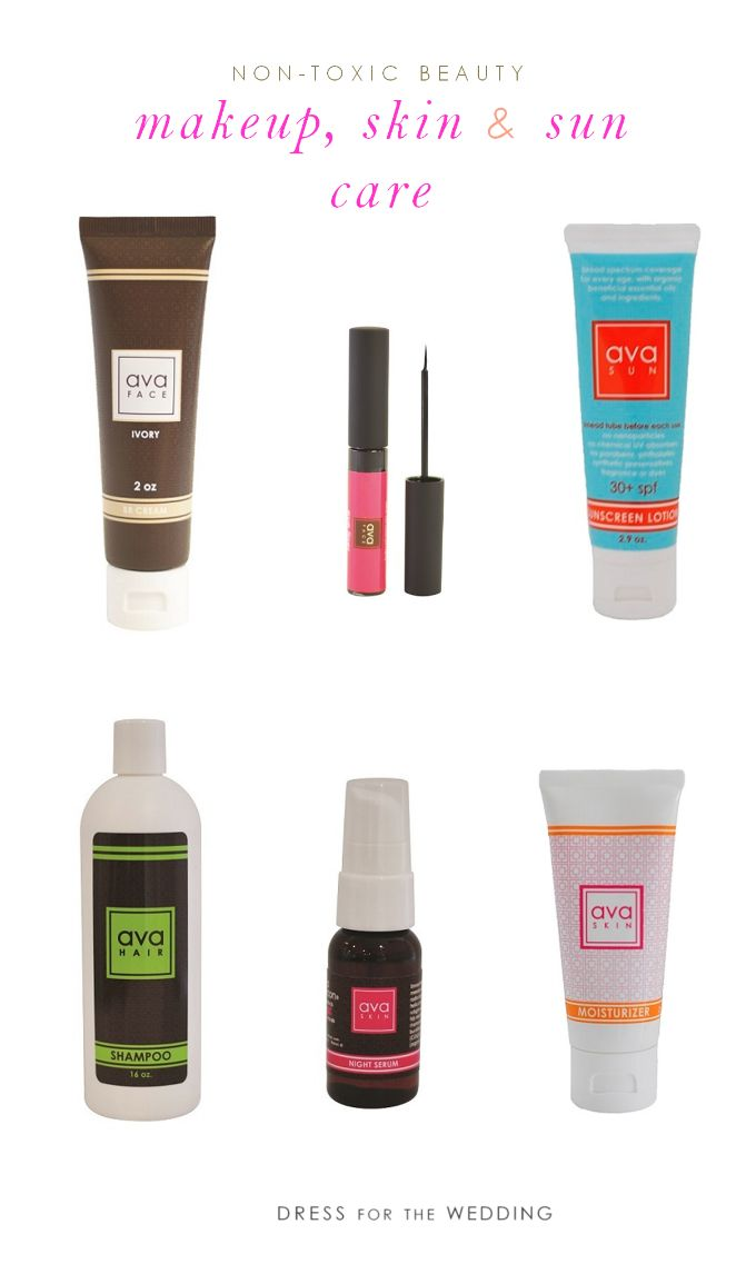 Non Toxic Solutions For Skin Care Sunscreen And Makeup
