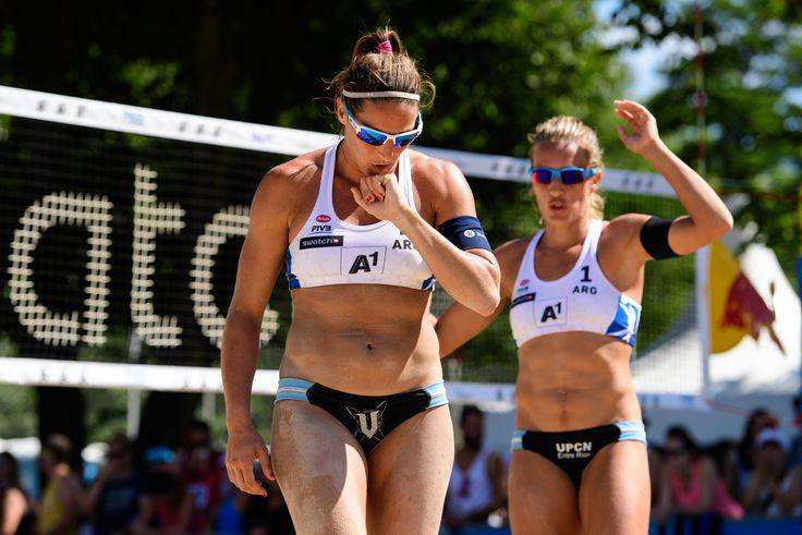 Rio 2016 - Beach volleyball - Tras el gran torneo realizado en el Major A1 de Klagenfurt en Austria, Ana Gallay y Georgina Klug, la dupla que representará al Beach Volley argentino en  (2200×1468)