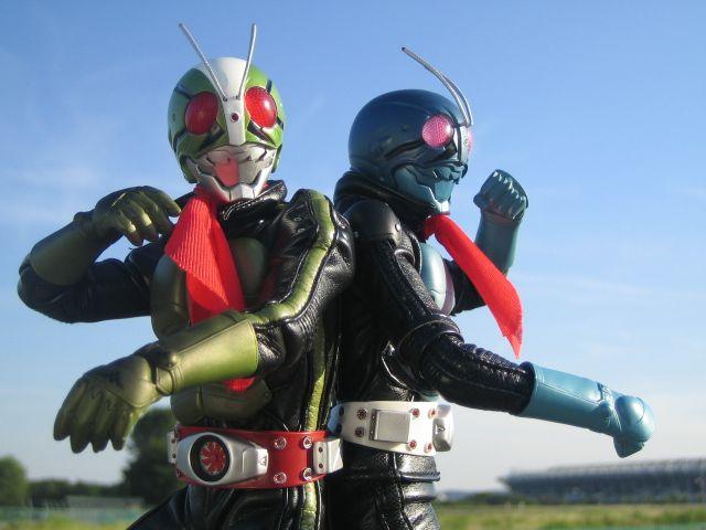仮面ライダー3号と4号 (1971 幪面超人)
