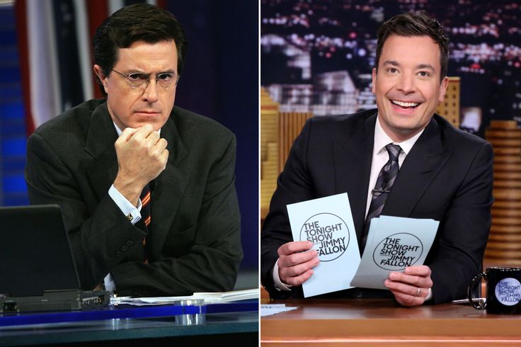 """The late-night TV audience appears to be splitting into two distinct groups, ratings data out Tuesday reveals. While """"The Late Show with Stephen Colbert"""" attracted more total viewers for the 12th s…"""