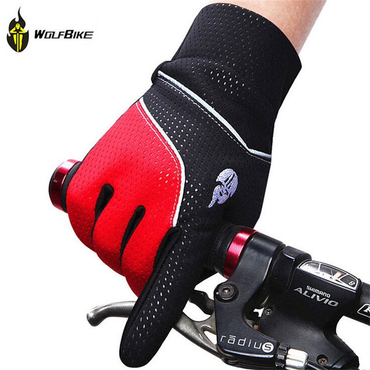 WOLFBIKE Thermal Fleece Rainproof Full Finger Winter Bicycle Glove Gel Silicone Pad Bike Guantes MTB Road Cycling Gloves for Men #clothing,#shoes,#jewelry,#women,#men,#hats,#watches,#belts,#fashion,#style