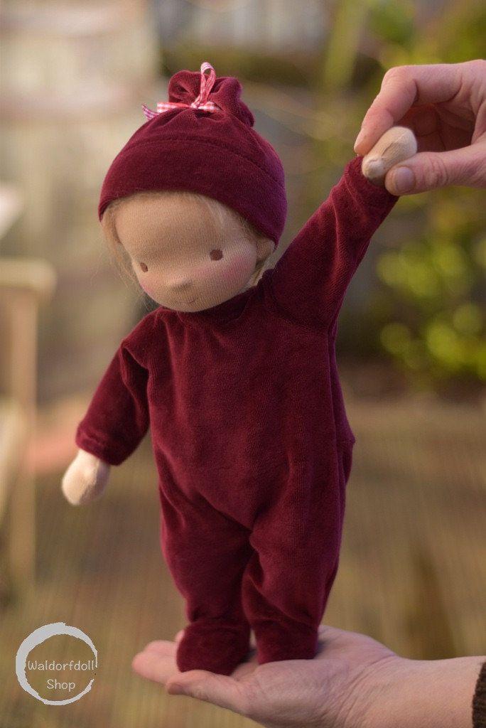 "https://flic.kr/p/23ZK5GE | 13"" Baby Waldorf Doll by Waldorfdollshop"
