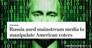 WaPo Just Admitted 'Russian Propaganda' Was Actually US Mainstream Media, and Was 'Factual' The Washington Post went from claiming that Russian bots were using alternative media outlets to spread 'fake news' to admitting that they were actually sharing mainstream media stories that favored Trump. The post WaPo Just Admitted 'Russian Propaganda' Was Actually US Mainstream Media, and Was