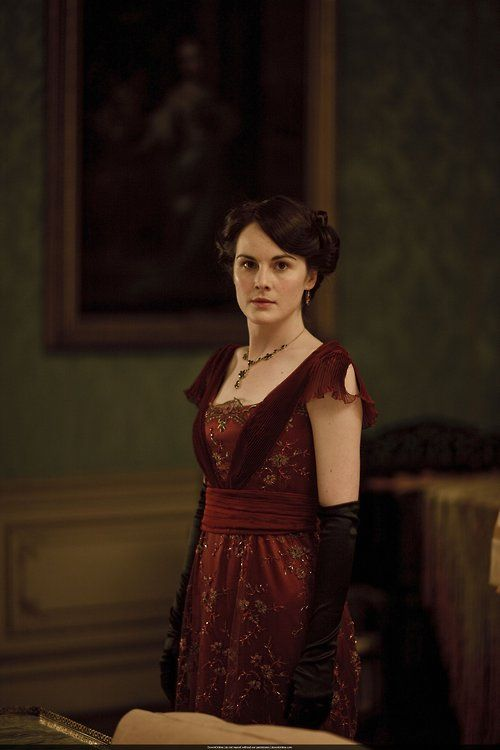 Michelle Dockery as Lady Mary Crawley in Downton Abbey