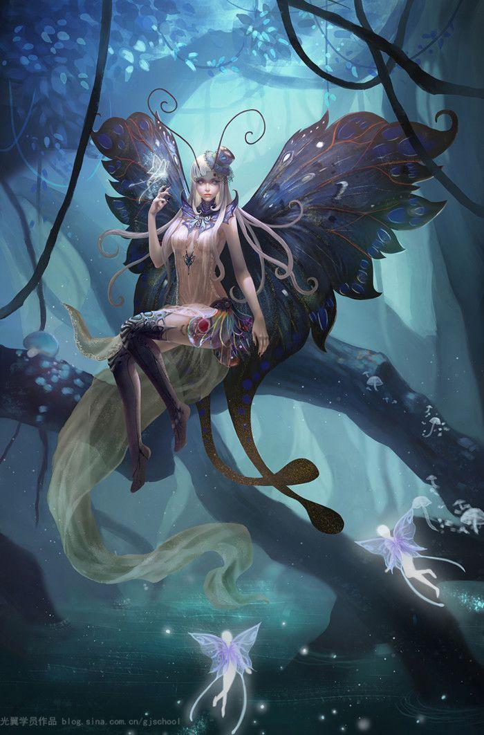 Butterfly Fairy Art Fantasy