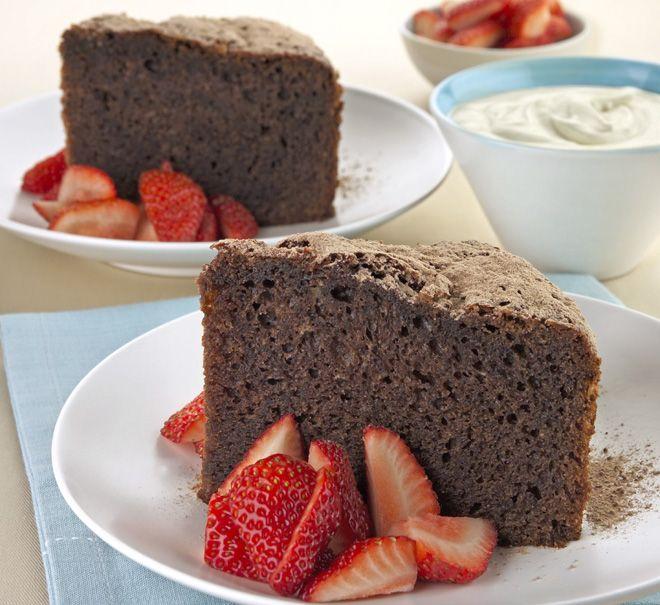 Bizcocho de chocolate y yogur en microondas cocina en - Bizcocho microondas isasaweis ...