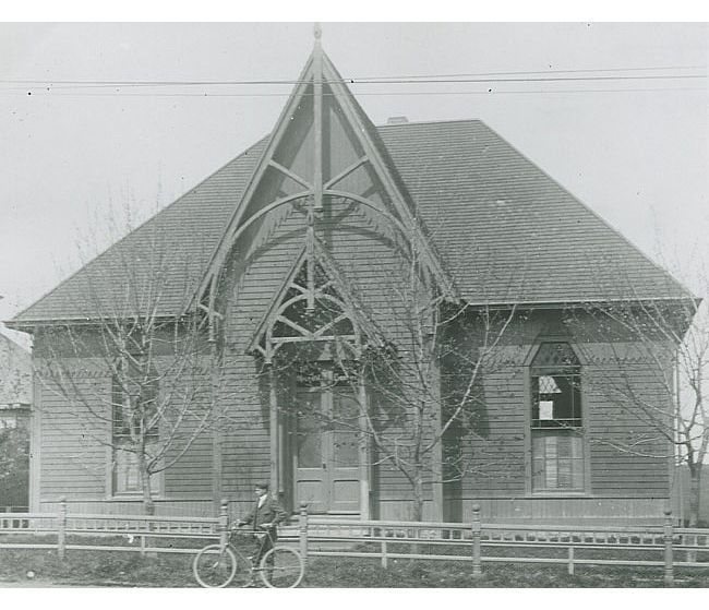 Constructed in 1888 to house the Milton Library.