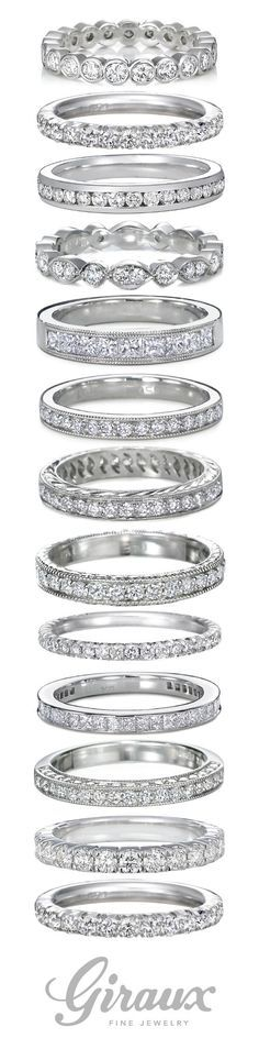 engagement rings and wedding bands / http://www.himisspuff.com/engagement-rings-wedding-rings/19/