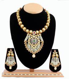 Buy Gold Necklace Set necklace-set online