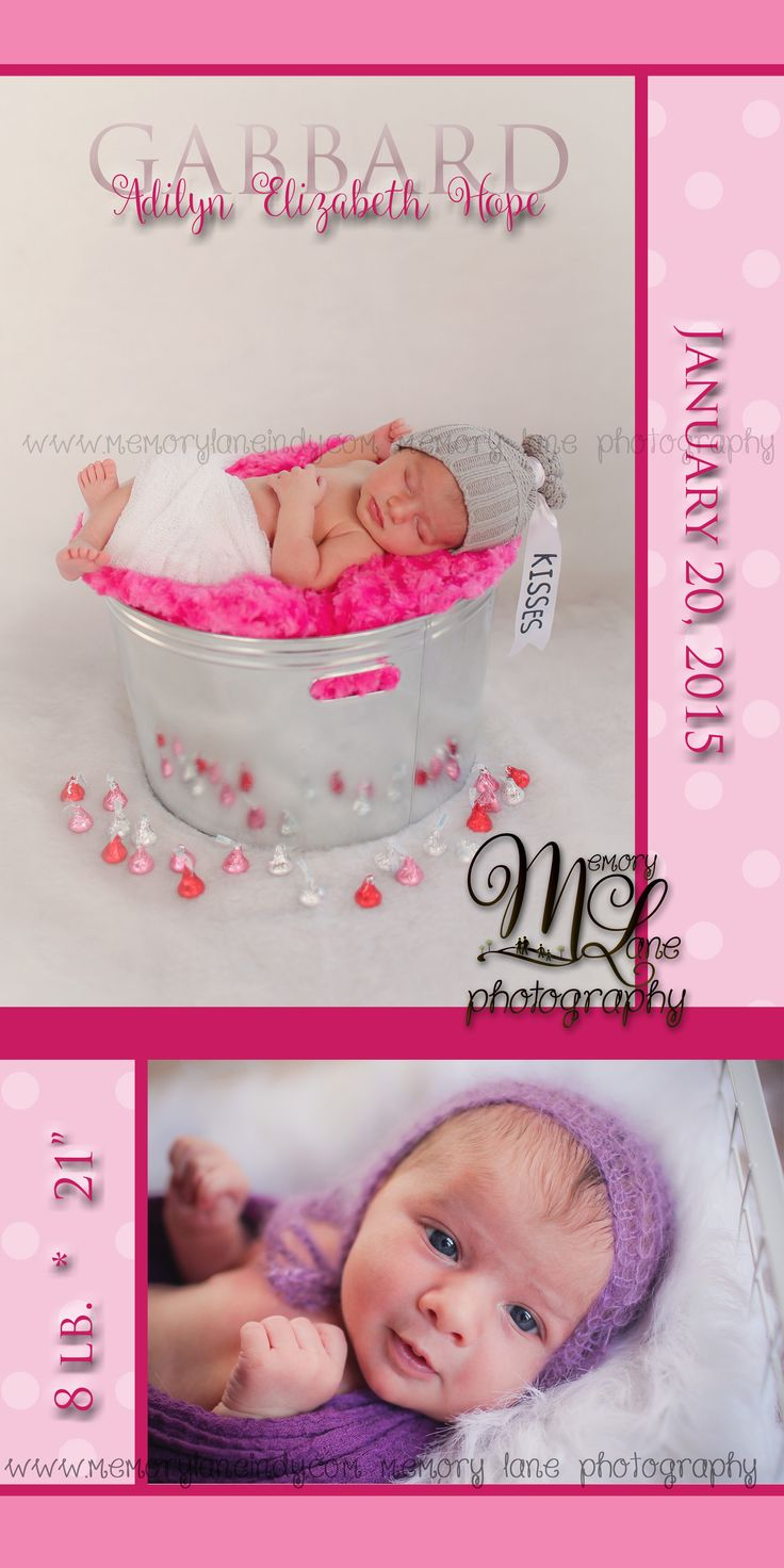 1000 images about Memory Lane Photography LLC – Birth Announcements Indianapolis
