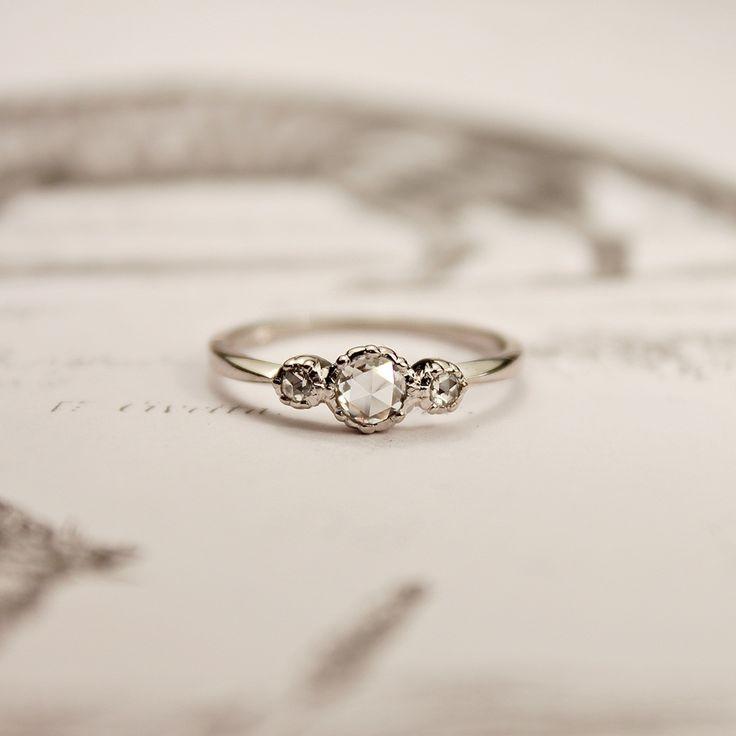 https://www.bkgjewelry.com/ruby-rings/137-18k-yellow-gold-diamond-ruby-ring.html rose cut diamond ring