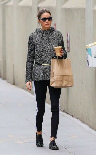 Olivia Palermo Photos - Olivia Palermo Stops for Coffee in NYC - Zimbio