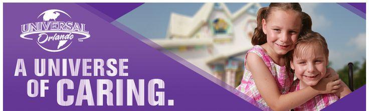 Universal Studios Donation Request
