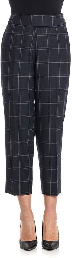 Via Masini 80 Fleece Wool Blend Trousers