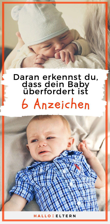 Daran erkennst du, ob dein Baby überfordert ist – :Hallo Eltern