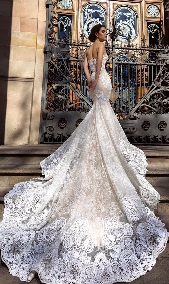 Best 25 embroidered wedding dresses ideas on pinterest for Crystal embroidered wedding dress