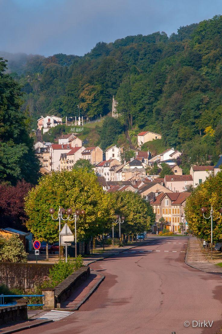 Plombières Les Bains, Vogezen, Frankrijk