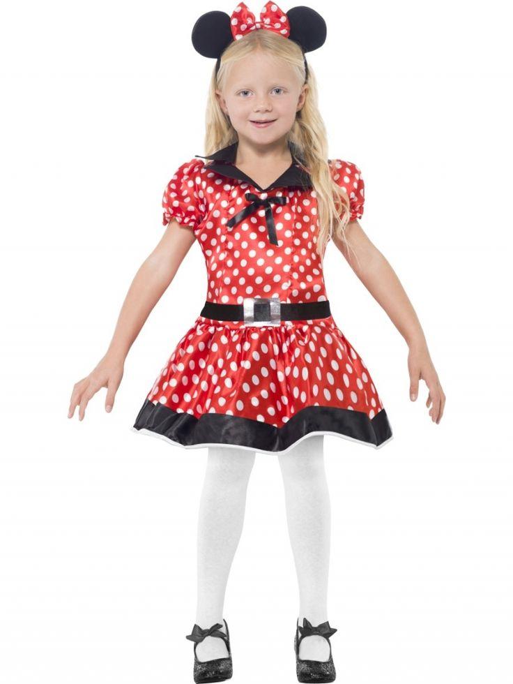 Disfraz de Ratita infantil. Kids Minnie #costume  http://www.leondisfraces.es/producto-1193-disfraz-de-ratita-infantil