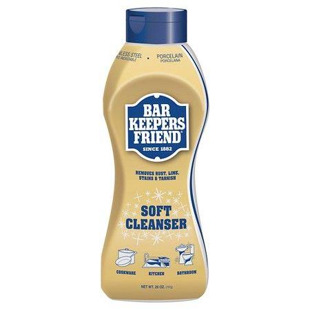 Bar Keepers Friend Liquid Cleanser 26 oz : Target