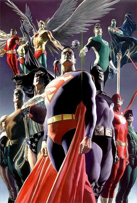 #Justice #League #Fan #Art. (Justice League) By: Alex Ross. (THE * 5 * STÅR * ÅWARD * OF: * AW YEAH, IT'S MAJOR ÅWESOMENESS!!!™)[THANK Ü 4 PINNING!!!<·><]<©>ÅÅÅ+(OB4E)