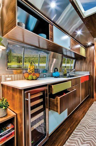 Travel Trailer Kitchen Remodel