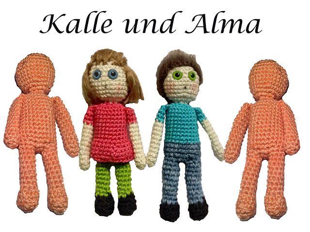 Knotenzeug by KaRa: Püppchen Alma
