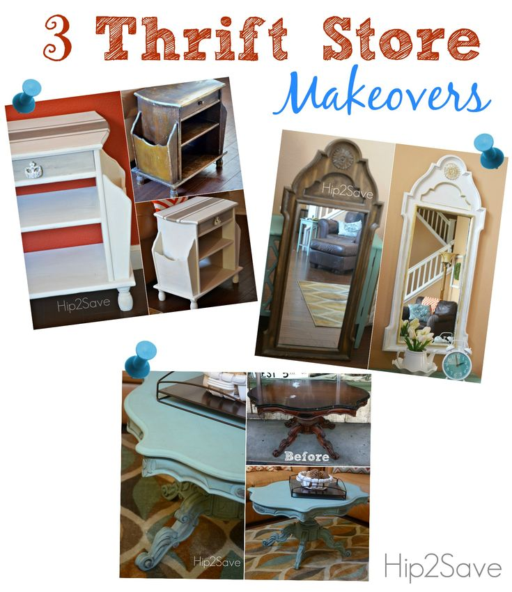 3 Thrift Store Makeovers Furniture Annie Chalk Paint And Chang 39 E 3