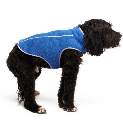 d6e9ad4f0f4b Royal Animals Fleece Dog Jacket - Blue - XL, Yellow | Products | Dog ...