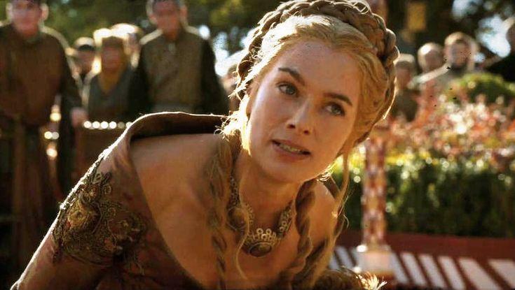Cersei reacts to Joffrey's death