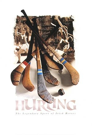 The historic sport of Hurling, over 3000 years old!