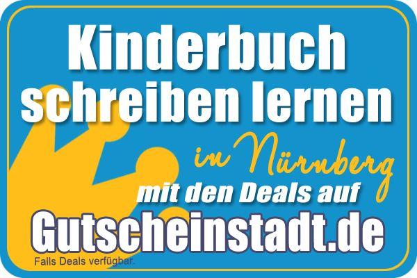Kinderbuch schreiben lernen in Nürnberg mit Gutscheinstadt
