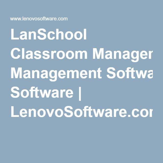 LanSchool Classroom Management Software | LenovoSoftware.com