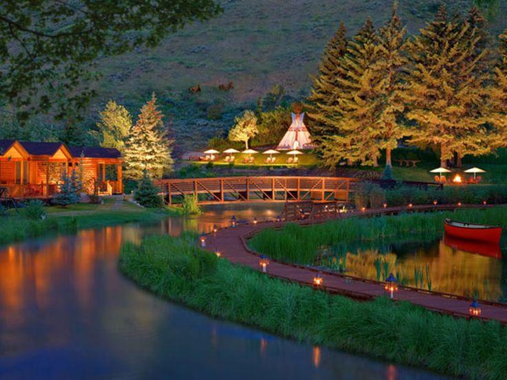 jackson hole wyoming luxury resorts | Rustic Inn Creekside Resort and Spa - Jackson Hole, WY , United States