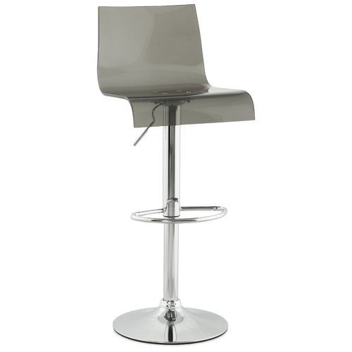 Found it at Wayfair.co.uk - Plexi Swivel Adjustable Bar Stool