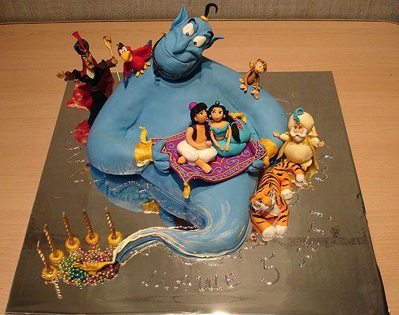 Aladdin Cake made by Art Cake