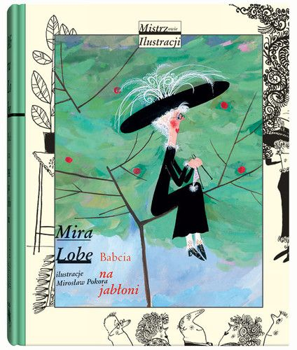 Babcia ( Polish Illustration, children's book )
