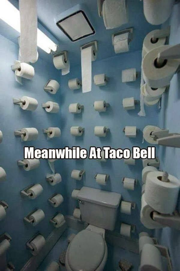Meanwhile in taco bell