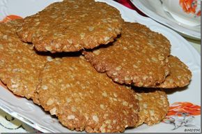 Sušenky s vločkami a vlašáky