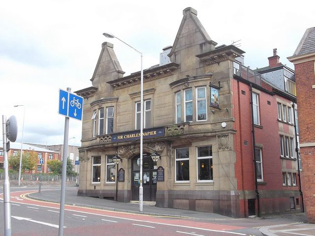 """The Sir Charles Napier"" (Pub) Limbrick, Blackburn BB1 8AA by mrrobertwade (wadey), via Flickr"