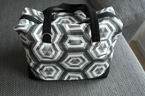 Weekend bag.