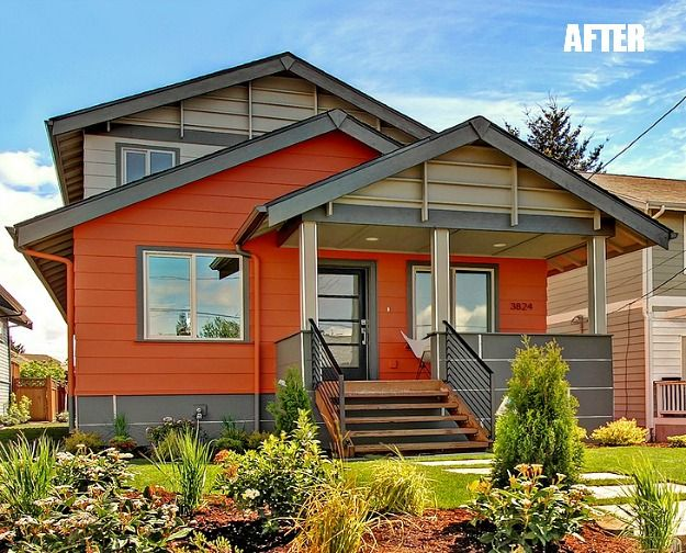 3824 Wallingford Seattle WA after reno...Fantastic BEFORE & AFTER reno of an older home