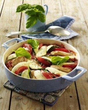 Überbackene Minutensteaks in Tomatensoße