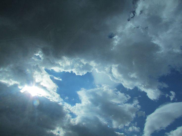 Bulutların kalbi..